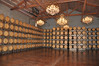 Barrel room at Chimney Rock - very cool