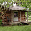 Writer's cabin, Melrose Plantation, near Natchitoches, Louisiana.