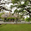 Big house, Oakland Plantation, near Natchitoches, Louisiana.