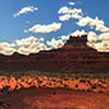 Valley of the Gods<br /> Panorama of the Valley of the Gods