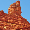 Rock formation in the Valley of the Gods<br /> Large rock formation in the Valley of the Gods