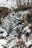 Frozen Waterfall, Modi Khola Valley