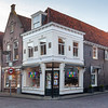 Streets of Edam village, North Holland, Netherlands