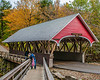 Covered Bridge Over the Pemigewasset