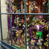 Mardi Gras window display