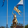 "<b>French Quarter, New Orleans, Louisiana</b> The Joan of Arc statue is a replica of the original <a href=""http://www.photographybydrema.com/Travel/France/23674231_D9FCsW#!i=2171409189&k=kCNHtTz"" target=""link target"">Jeanne d'Arc</a> statue in Paris. They were both created by sculptor <a href=""http://en.wikipedia.org/wiki/Emmanuel_Fr%C3%A9miet"" target=""link target"">Emmanuel Frémiet</a>. Although said to be an exact replica, there are several differences. It was donated to the citizens of <a href=""http://en.wikipedia.org/wiki/New_Orleans"" target=""link target"">New Orleans</a> by the people of France in 1959."