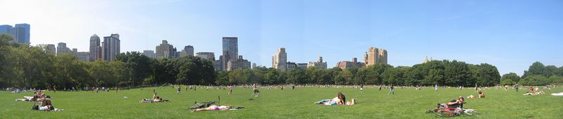 Lazy afternoon in Central Park - Sept 11