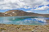 Blue Lake on the Tongariro Divide