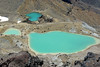 Emerald Lakes (from the Red Crater rim on the Tongariro Crossing)