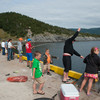 Mackerel Fishing in Norris Point, NL...The whole town came out.