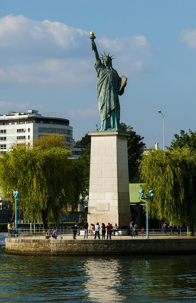 Statue of Liberty in the Seine, Paris
