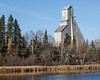 Headframe at McIntyre site in Timmins (Schumacher), Ontario.