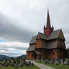 Ringebu stave church built in the early 1200s.