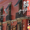 every business decorates for Day of the Dead