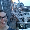 Selfie on the deck for my own beach happy hour