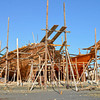 Dhow Building in Progress