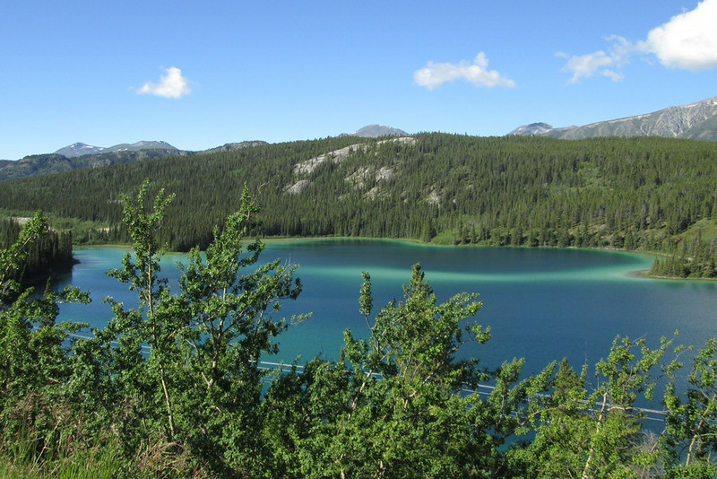Emerald Lake outside Carcross