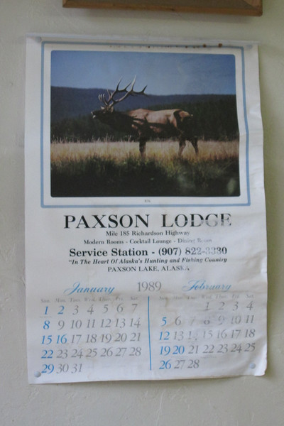 25 year old Paxson calendar
