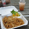 Pad Thai and Thai Iced Tea