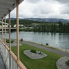 SS Klondike looking over the Yukon River