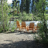 A peaceful spot to relax at McKinley Creekside Cabins