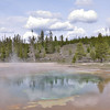 Chromatic Pool - Upper Geyser Basin - Yellowstone National Park