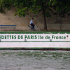 Bike on Seine River Paris copy