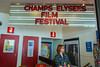 Paris, France, Franco-American International FIlm Festival, Champs Elysees,  Lincoln Cinema, June, 2014
