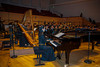 """Paris, France, North Korean Symphony Orchestra """"the Unhasu Orchestra"""" together with """"Radio France Philharmonic Orchestra""""<br /> Perform First Concert in Europe, under the baton of renowned South Korean conductor Chung Myung-Whun, in Salle Playel Theater, March 14, 2012"""