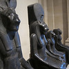Various manifestations of a single Egyptian god, whose name I can't recall