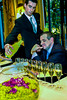 PARIS, France  - Champagne Wine Taste-Testing, Eric Beaumard, Sommalier, Le V Restaurant, Four Seasons/George V Hotel.