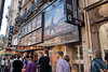 Paris, France, people Lining Up Outside French Cinema in Saint-Germain-des-Prés District