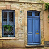 BLUE DOOR Aigues Morte, France