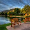 Cheyenne Mountain from the Broadmoor