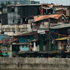 Shantytown in Manila.