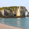Photofreak. Etretat, Normandy. France. Rock formation at Etretat on the English Channel.