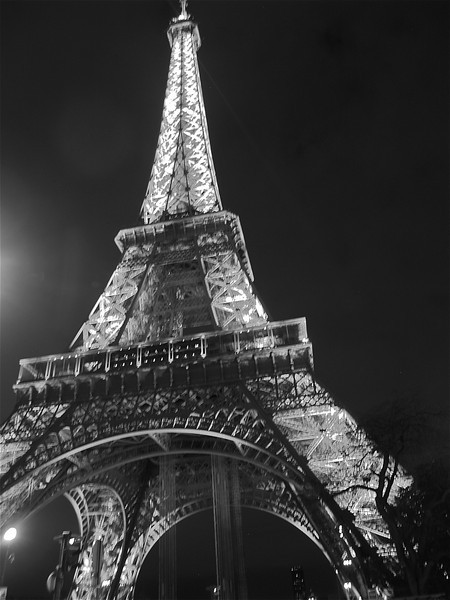 Photofreak. April in Paris. Eiffel Tower. France.