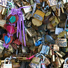 Photofreak. April in Paris, Le Pont des Art. Locked in Love.