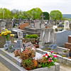 Photofreak. Auvers Sur Oise, France. Vincent Van Gogh is buried in this cemetery.