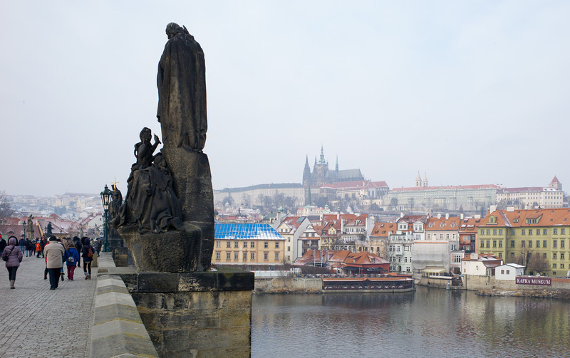 Castle & Cathedral across Vltava