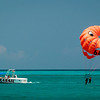 Parasailing on Grace Bay