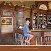 Quaint bar interior at the Imperial Hotel in Ravenswood, Queensland, Australia.<br /> <br /> Photographed July 2010 - © Lesley Bray Photography
