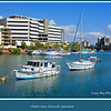 Boats moored in the river at Flinders Street, Townsville, Queensland, Australia.<br /> <br /> Photographed July 2010 - © Lesley Bray Photography