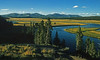 Yellowstone River at Hayden Valley (2 Photo Panorama)