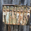 Old Rusty Russian Mailbox