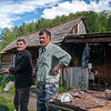 These guys were surprised to see me! Searching for a new route through the Altai. Altai Republic - Russia