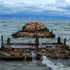 Old Pier of on Olkhon Island, Baikal, Siberia, Russia