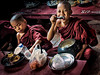 2015-02-19_Yangon_Two_Novices_Eating-mono-6042-mix