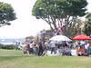 Festival in the park in San Diego