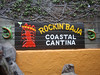 Eating lunch at the Rockin' Baja Coastal Cantina in Old Town